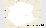 Classic Style Simple Map of Postojna