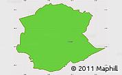 Political Simple Map of Postojna, cropped outside