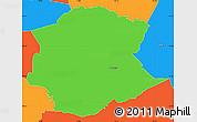 Political Simple Map of Postojna