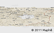 Classic Style Panoramic Map of Sevnica