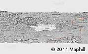 Gray Panoramic Map of Sevnica