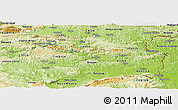 Physical Panoramic Map of Sevnica