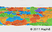 Political Panoramic Map of Sevnica