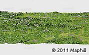 Satellite Panoramic Map of Sevnica