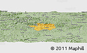 Savanna Style Panoramic Map of Sevnica