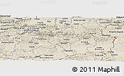 Shaded Relief Panoramic Map of Sevnica
