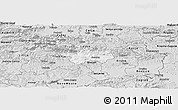 Silver Style Panoramic Map of Sevnica