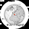 Outline Map of Sezana