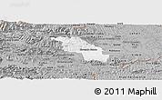 Gray Panoramic Map of Slovenska Bistrica