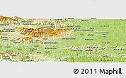 Physical Panoramic Map of Slovenska Bistrica