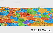 Political Panoramic Map of Slovenska Bistrica