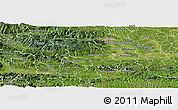 Satellite Panoramic Map of Slovenska Bistrica