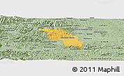 Savanna Style Panoramic Map of Slovenska Bistrica
