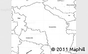 Blank Simple Map of Slovenska Bistrica