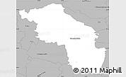 Gray Simple Map of Slovenska Bistrica