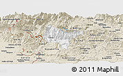 Classic Style Panoramic Map of Tolmin