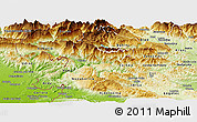 Physical Panoramic Map of Tolmin