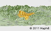 Savanna Style Panoramic Map of Tolmin