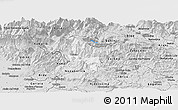 Silver Style Panoramic Map of Tolmin