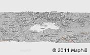 Gray Panoramic Map of Trebnje