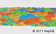 Political Panoramic Map of Trebnje