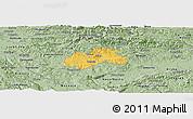 Savanna Style Panoramic Map of Trebnje