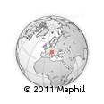 Outline Map of Vrhnika