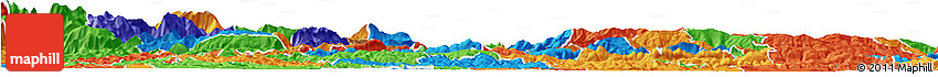 Political Horizon Map of Zalec
