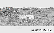 Gray Panoramic Map of Zalec