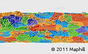 Political Panoramic Map of Zalec