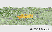 Savanna Style Panoramic Map of Zalec