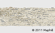 Shaded Relief Panoramic Map of Zalec