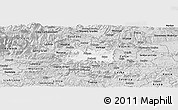 Silver Style Panoramic Map of Zalec