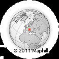 Outline Map of Zelezniki
