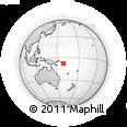 Outline Map of Isabel