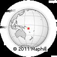Outline Map of Makira