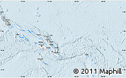 Gray Map of Solomon Islands