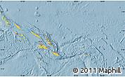 Savanna Style Map of Solomon Islands