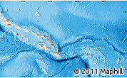 Shaded Relief Map of Solomon Islands