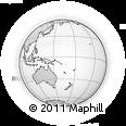 Outline Map of Solomon Islands