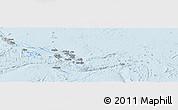 Gray Panoramic Map of Solomon Islands