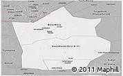 Gray Panoramic Map of Hiiran