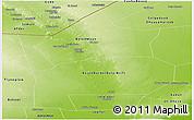 Physical Panoramic Map of Hiiran