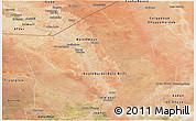 Satellite Panoramic Map of Hiiran