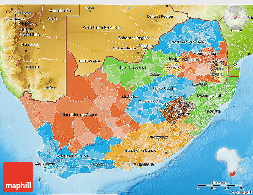 physical map south africa 28 images map of africa physical