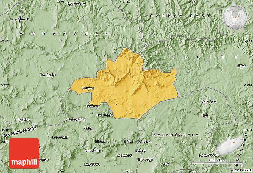 Savanna Style Map of INDWE