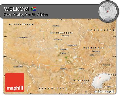Free Satellite Map of WELKOM