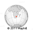 Outline Map of BRAKPAN