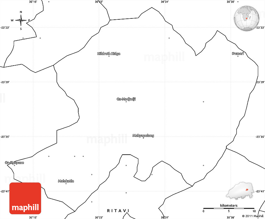 Blank Simple Map of BOLOBEDU