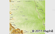 Physical 3D Map of PHALABORWA